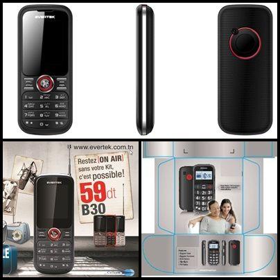 Le B30 vous proposer d'arrêter de vous galérer avec la radio FM ! Avec lui pas besoin de mettre son kit pour écouter les Hits !  En plus de la double SIM, du MP3 et de l'appareil photo, le B30 possède une torche. On ne sait jamais !