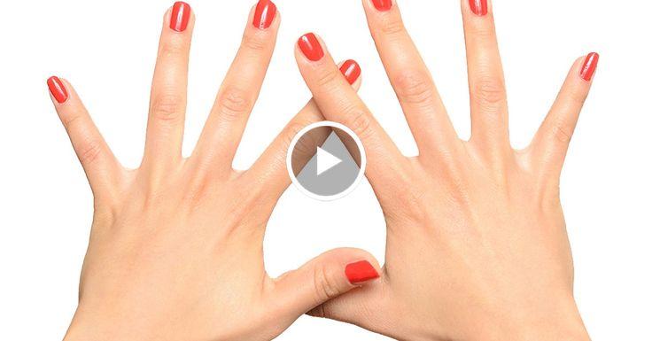 Попробуй этот японский метод исцеления всего за 5 минут! Каждый палец связан с определенными органами.