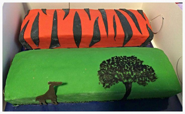 Wildlife cakes
