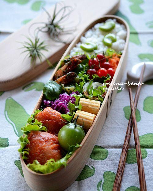 ・鶏胸肉の南蛮漬け・海老とブロッコリーのサラダ・にらと桜えびの韓国風玉子焼き・紫芋とクリチのサラダ・蓮根、大根、うずらの岩下漬け・生ハム巻き おからのポテサラ風・パプリカの旨塩コンソメ・ちんげん菜のナムル・紫キャベツのマリネ・スイスチャード巻き 玄米おにぎりわっぱ・曲げわっぱ弁当ランキングFC2 Blog Ranking...