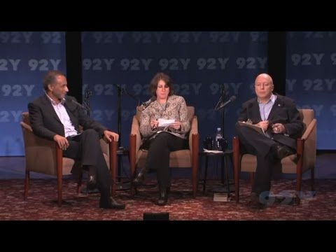 Christopher Hitchens and Tariq Ramadan Debate: Is Islam a Religion of Peace? Moderated by Laurie Goodsteing, October 5, 2010 at 92Y.