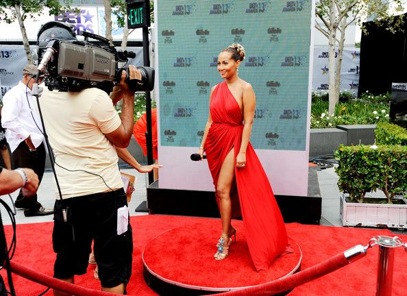 Adrienne Bailon Photos - Recording artist Adrienne Bailon attends the 106 & Park Stage Pre-Show during the BET Awards at Nokia Theatre L.A. Live on June 30, 2013 in Los Angeles, California. - Stage Pre-Show at the BET Awards