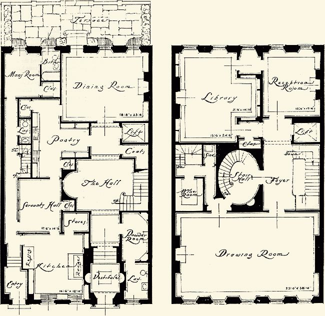 102 best images about townhouse floor plans on pinterest for Townhouse plans