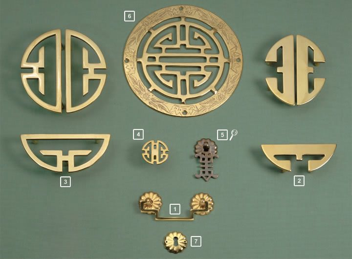 12 best Asian Cabinet Hardware images on Pinterest | Antique brass ...