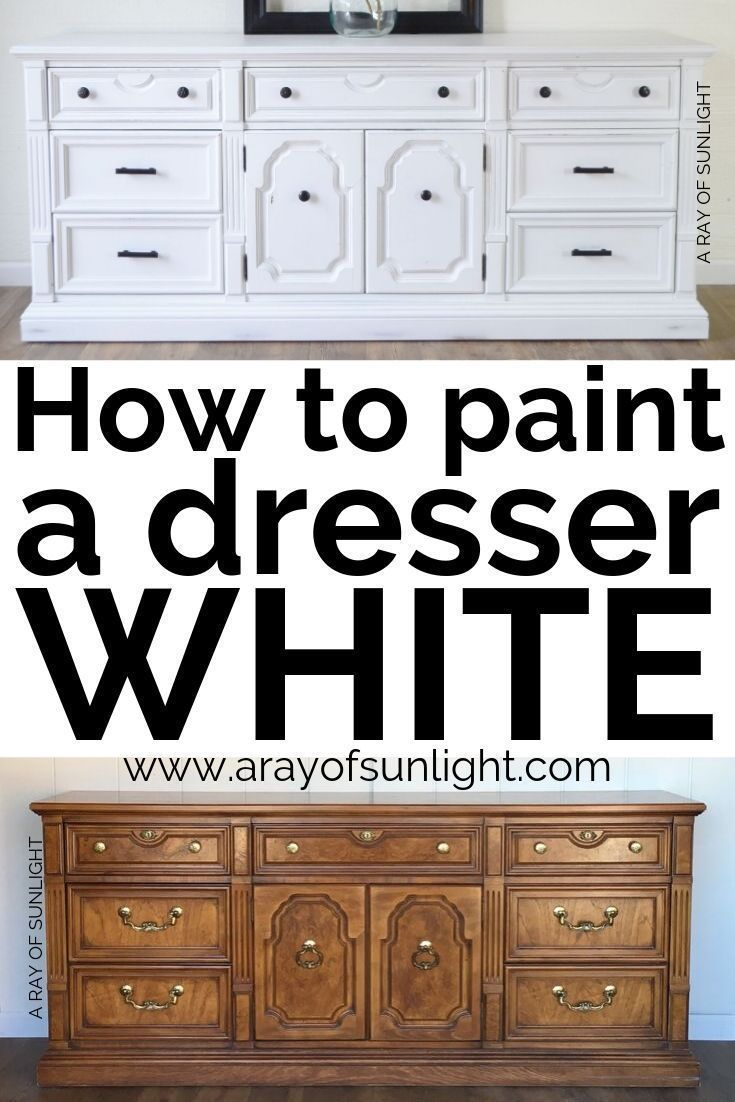 How To Paint Furniture White Furniture Paint White Furniture Paint White Whitefurniture White Painted Furniture Paint Furniture Painting Old Furniture