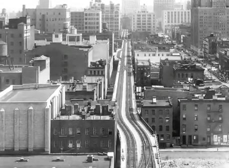 High Line New York-History