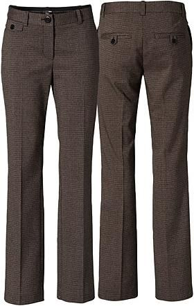 """Cute- no high waist pants. I like a little  more cotton material for pants similar to khakis (not nylon/spandex) and I like straight leg (not tight in knees or ankles) and long 33""""-34"""" inseam. Can't wear heel more than an inch."""