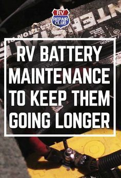 Your RV batteries have two jobs: The automotive battery to start and run the RV engine when you're on the road, and the Deep Cycle house batteries to run the lights and appliances when you're using your RV as a home instead of as a vehicle. In both cases, it's clear just how important the batteries are to your RV life enjoyment. Keep up with RV battery maintenance is the simplest way to make sure you have power to make your coffee every morning, while still being able to start the motor.