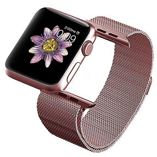 Apple Watch Band iWatch Strap Wrist Bracelet Magnetic Rose Gold 38mm #iWATCHBand