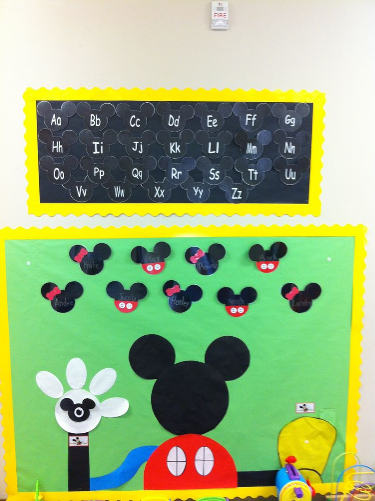Mickey Classroom Decor ~ Mickey mouse classroom disney themed