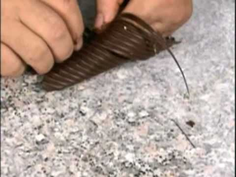 Chocolate Garnishes - Chocolate Decorations - Pastry Plating - How to - Recipe - Pastry Classes - YouTube