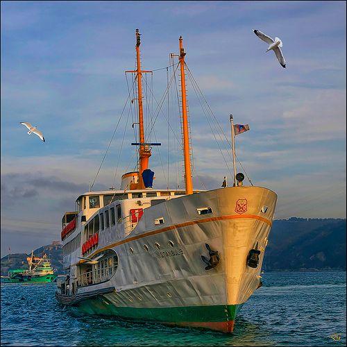 Ply the Bosphorus . Turkey