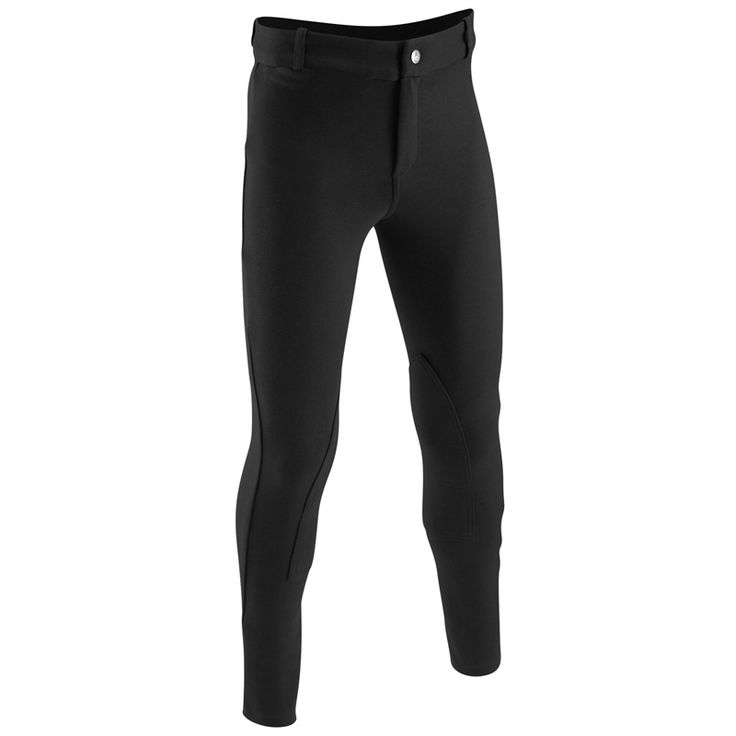 2016 Children's Horse Riding Pants Black for Kids Equestrian Pants Breeches Hard-wearing