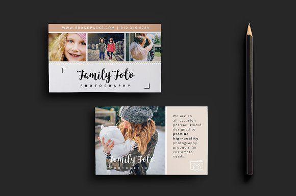 Family Photographer Business Card