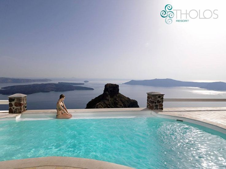 Who wouldn't want to dive in these cool, refreshing waters? More at tholosresort.gr