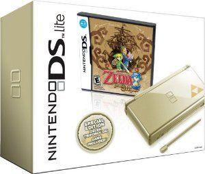 Nintendo DS Lite The Legend of Zelda: Phantom Hourglass edition