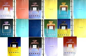 Chanel Pub N°5 Andy Wharol 1997