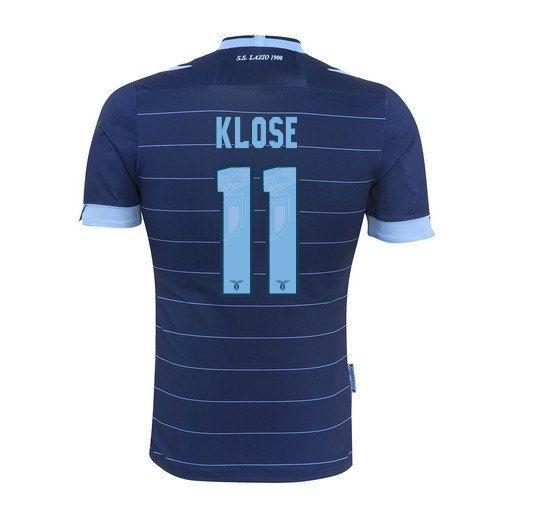 Men's 2013/14 S.S. Lazio Miroslav Klose 11 Away by SoccerAvenue, $69.95