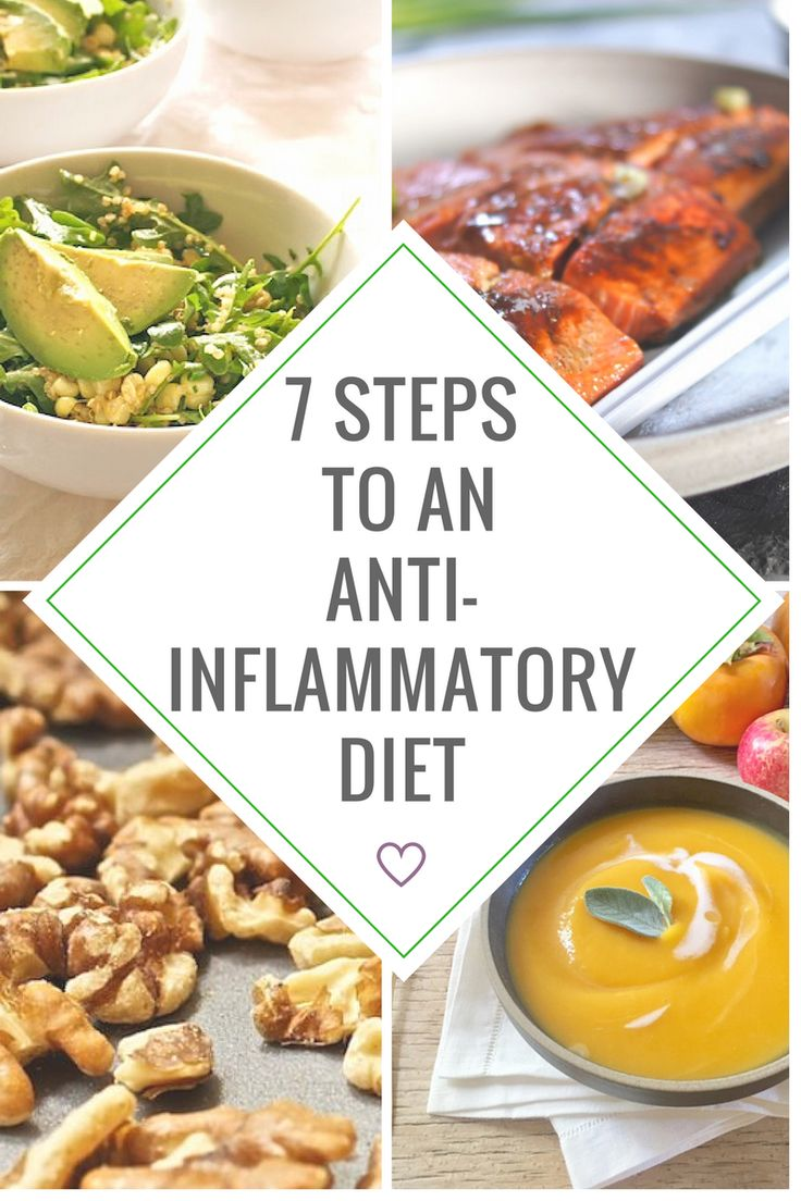 Inflammation is the root of so many healthy problems. Here's why with 7 steps to eating an anti-inflammatory diet.