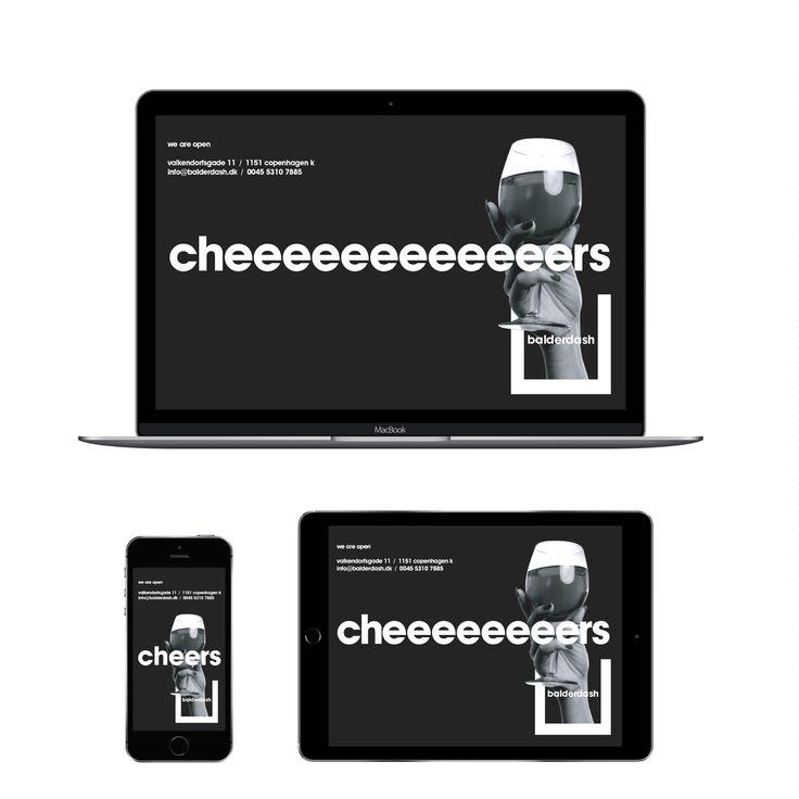 Balderdash – Cocktail Bar Digital Application. Visual Identity by HEAVY™ – www.heavy.tm