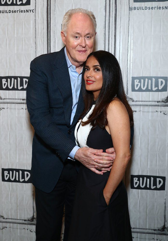 John Lithgow and Salma Hayek  IMDb Picks - Photos We Love - IMDb
