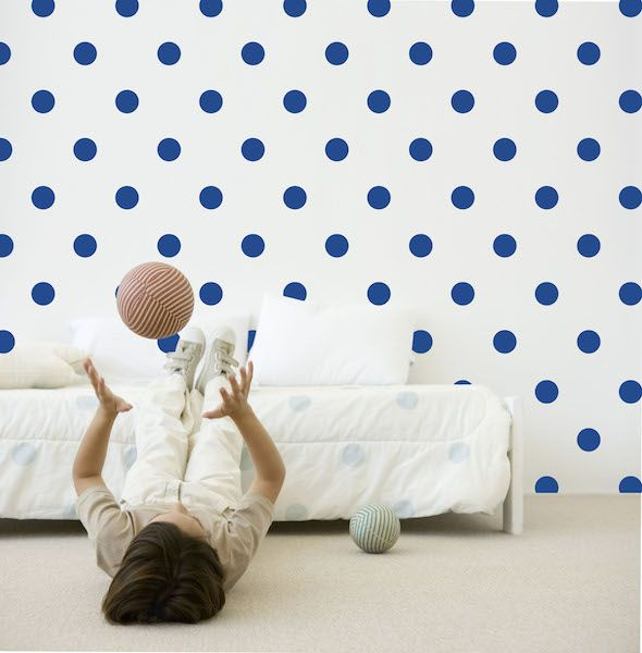 Speckled House Ink Spots Wall Decal - $42.95 - Ink Spots Wall Decal by Speckled House!  Add some gorgeous colour and magic to your any room of the house with this stylish ink dots removable wall sticker set!   #littlebooteek #kids #baby #nursery #bedroom #decor #speckledhouse