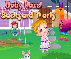 La Fiesta en Patio de Baby Hazel, Baby Hazel Backyard Party, http://www.babyhazelworld.com/game/baby-hazel-backyard-party-es/