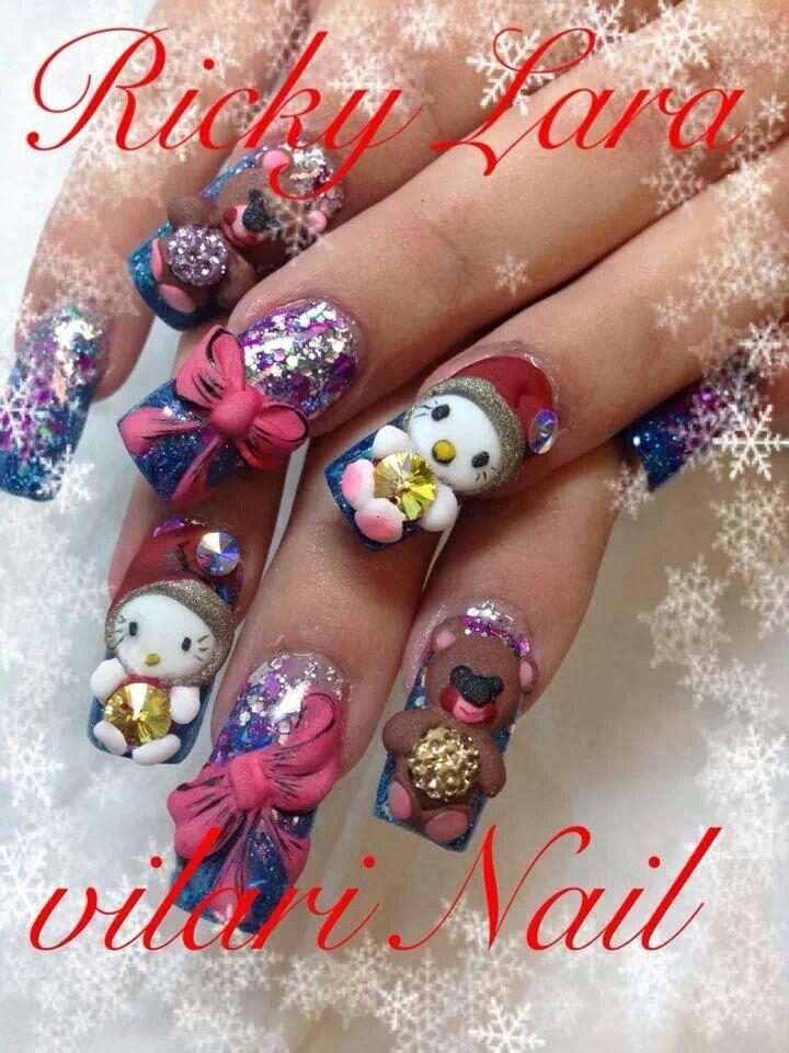 90 best Ricky Lara Nail Master images on Pinterest   Long nails ...