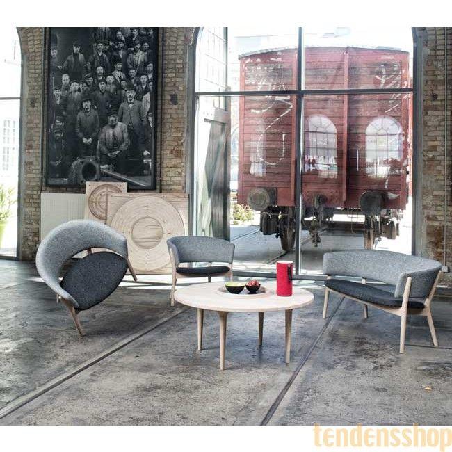 ND82 sofaen er designet af Nanna Ditzel i 1952 og er en moderne klassiker. #sofa #nannaditzel #boligindretning