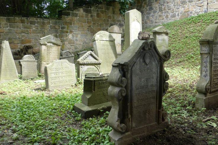 Jewish cemetery in Turnov, Czech Republic