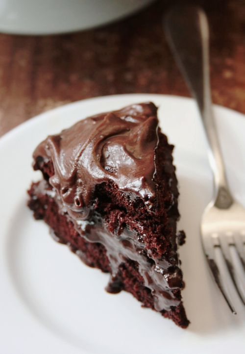 Devil's Food Chocolate Cake - oh.yes.