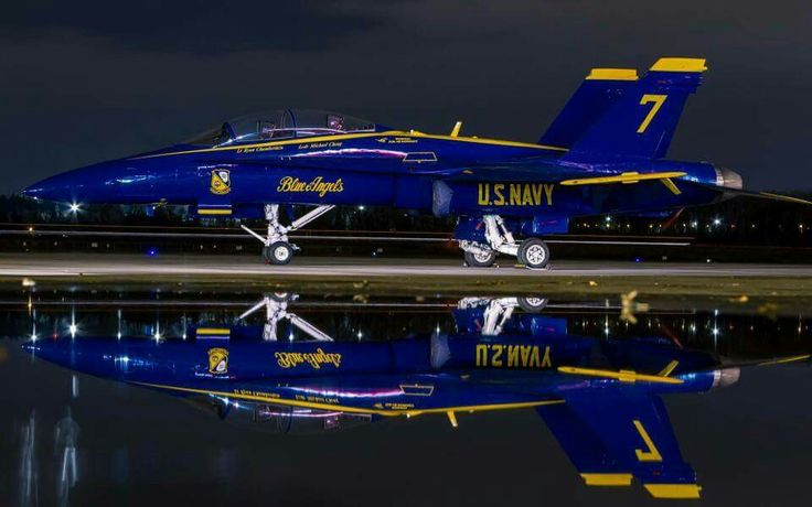 McDonnell Douglas F/A-18 Hornet - Blue Angels, United States Navy (USN), United States.