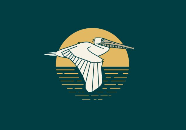 "Louisiana  ""Early European settlers were impressed with the pelican's generous and nurturing attitude toward their young, and the brown pelican has been a symbol of Louisiana since that time. Louisiana's official nickname is ""The Pelican State"" and the brown pelican appears on the state flag, seal, the official state painting, and is one of three Louisiana symbols displayed on the U.S. Mint's bicentennial quarter. Louisiana designated blue, white, and gold as the official state colors in…"