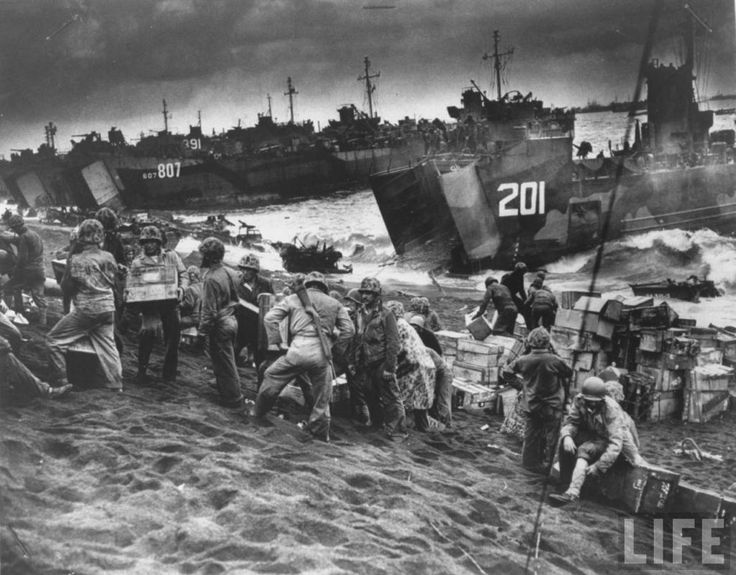iwo jima d-day casualties