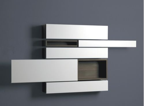 Wall cabinet horizontal  Potentially for Exam Rooms or Massage Room