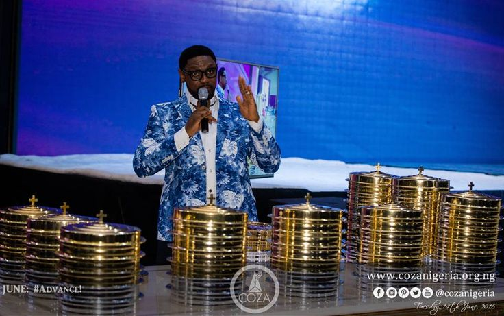 #Communion Tonight's communion table is named one that propelled all of us to advance. It doesn't matter how far you have gone; you will go further. #PastorBiodun #Advance #AllThingsNew