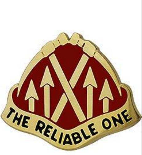 192nd Ordnance Battalion Unit Crest (The Reliable One)