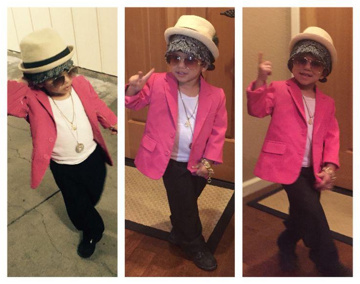 Uptown Funk you up!! Bruno Mars Costume #brunomars #uptownfunk #toddlercostumes # ...