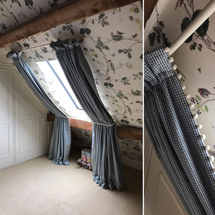 Beautiful window treatment by Griffin Interiors.