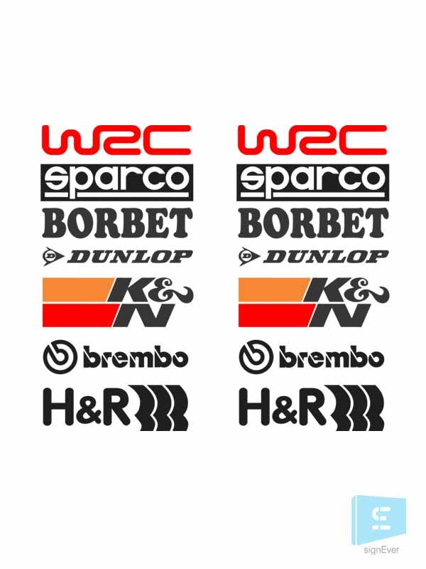 Racing Logo Stickers Grab This Sticker