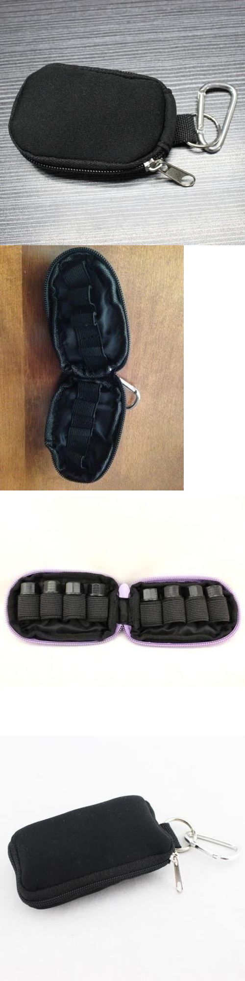wholesale Other Whlsl Health and Beauty: New 25X Keychain Pouch Black Fits 8X Essential Oil 2Ml Vials Incld No Logo -> BUY IT NOW ONLY: $170 on eBay!