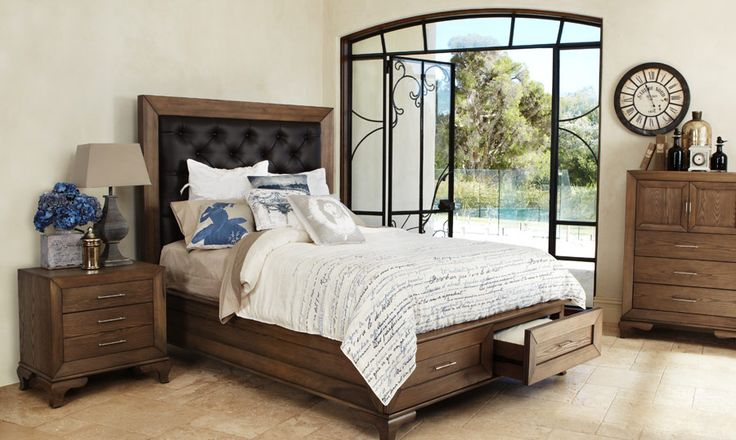Florence - Timber Queen Size Bed | Bedshed