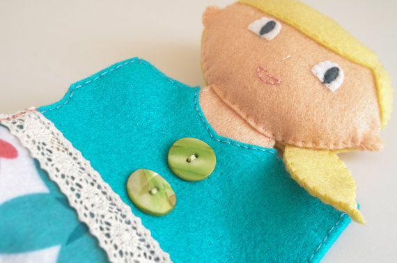 Goldilocks and The Three Bears  children toy hand puppets