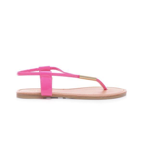 Delikatne Sandały Japonki HIT LATA