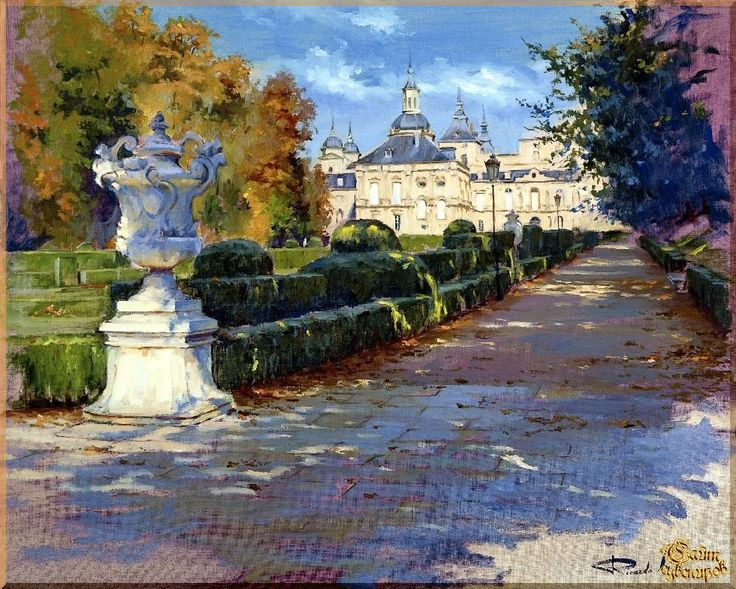 City - 275 Городской пейзах, картины, подарки