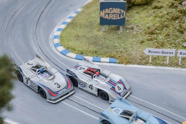 hO Slot Car Porsche 908-03 1971 1000 km Nürbrugring