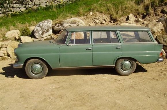 This 1966 Mercedes Benz 230S Universal is a rare right-hand-drive wagon that is said to have been stored for the last six years. The seller has had the car for 15 years and it once had a diesel engine. Find it here on eBay.UK in Wicklow, Ireland for 7000 GBP.