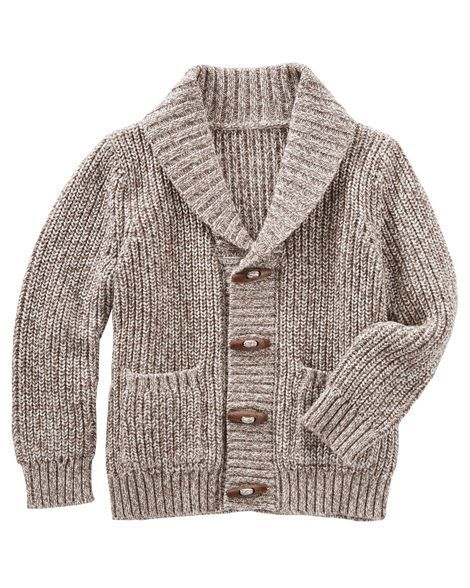 Kid Boy Shawl Collar Cardigan from Carters.com. Shop clothing & accessories from a trusted name in kids, toddlers, and baby clothes.