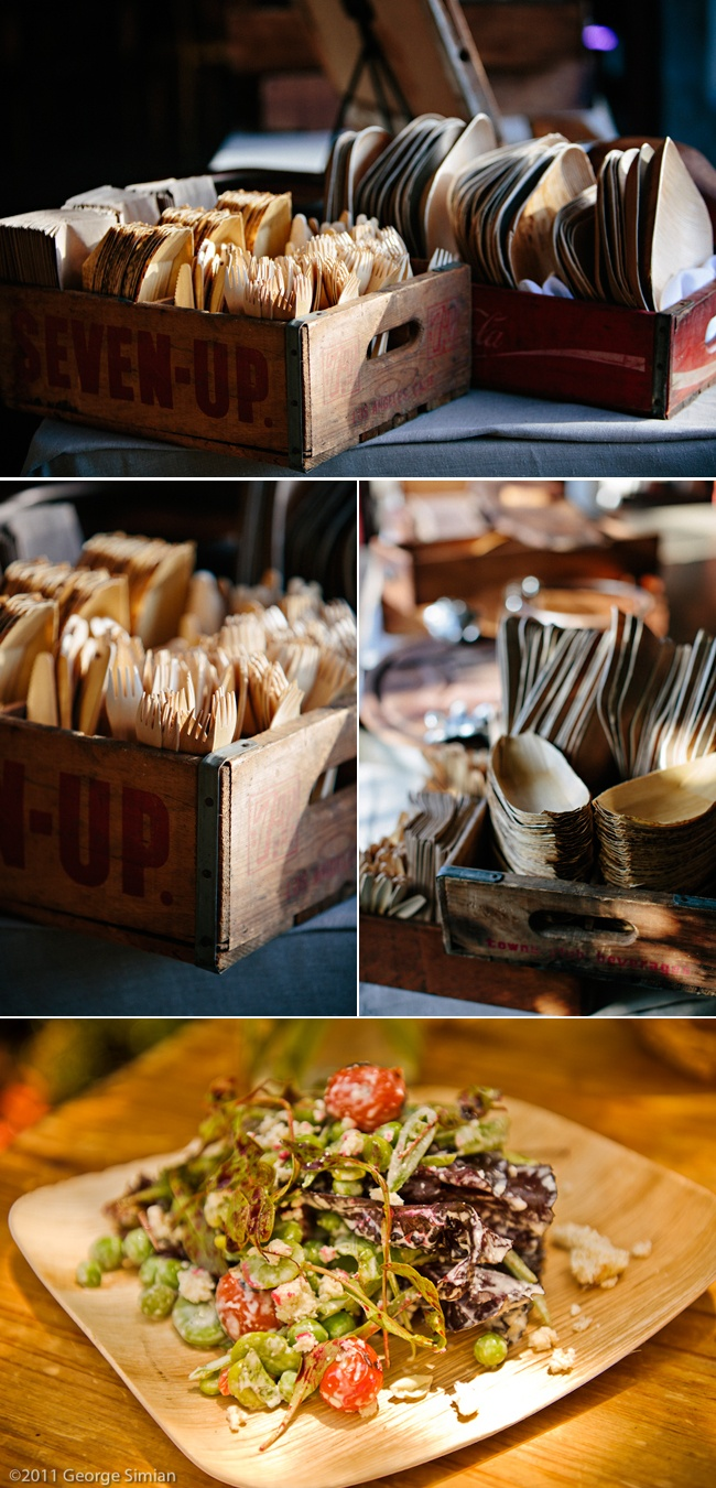 Traditional japanese wedding foods - Ver Terra Compostible And Disposable Dinnerware Pictured Here With Heirloom La Food