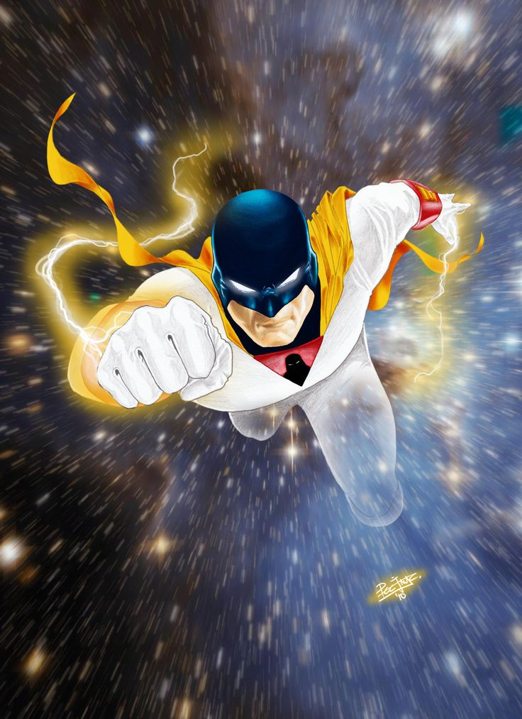 Space Ghost by PeejayCatacutan.deviantart.com on @deviantART #1960s #hannabarbera #superhero